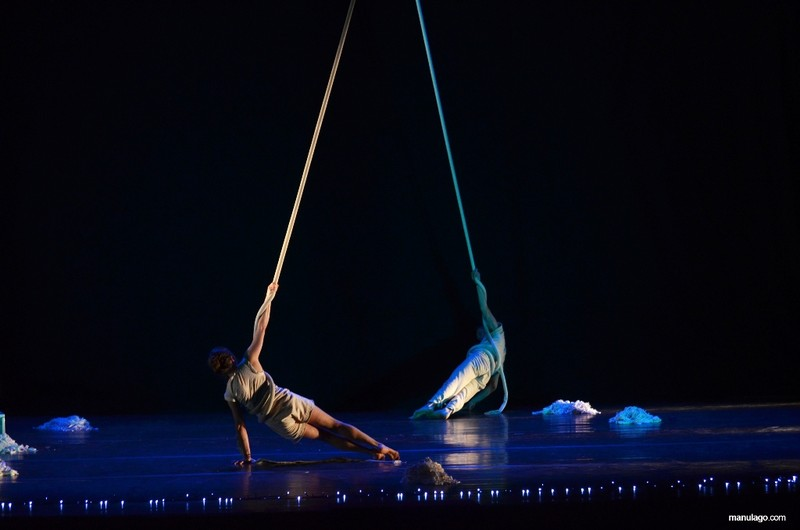 Dantza, zirkua eta musika bat eginda, Kultur Leioan