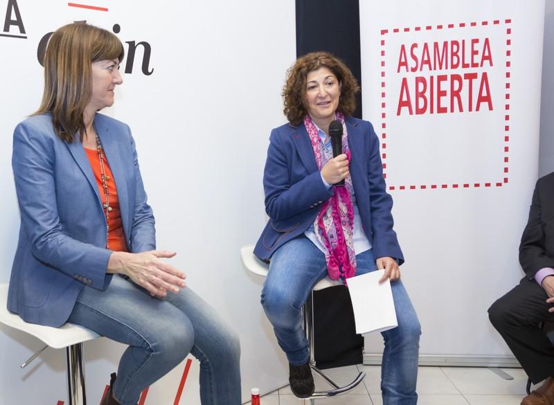 """Elena Perez alkategai sozialistak """"2.252 lehentasun"""" izango du: """"Erandioko langabetuak"""""""