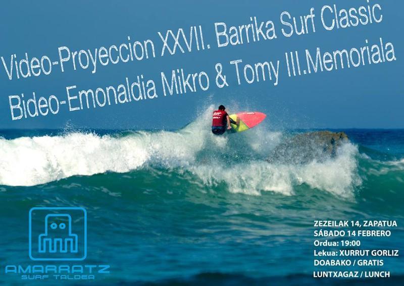 Bideo-Emonaldia Mikro&Tomy III. Memoriala Amarratz
