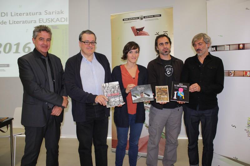 Mitxelko Uranga berangoztarrak irabazi du Euskarazko Saiakerako Euskadi Saria