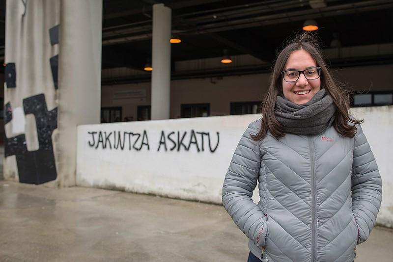 """Inesa Ugalde Igartua: """"Herri Unibertsitatea hiru egunetik harago joango den proiektu bat izatea nahi dugu"""""""