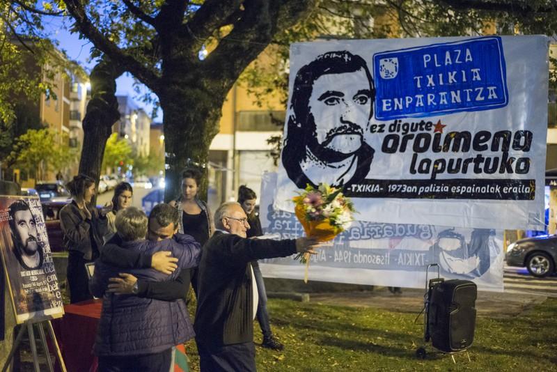 """""""Txikia"""" hil zuen Polizia frankistak Algortan, gaur duela 44 urte"""