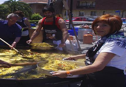 Meñakoz Kultur Taldeak jaurtiko du Larrabasterrako jaietako txupina
