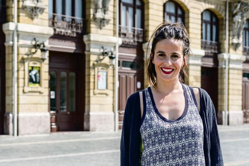 """Olatz Ganboa Pilar: """"Euskarazko antzezlanak taularatzen jarraitzea guztiz beharrezkoa da"""""""