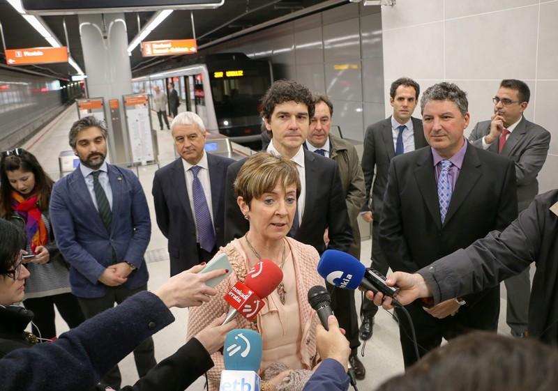 Inauguratu dute Urdulizko metro-geltoki berria