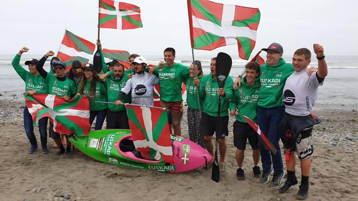 Euskadi berriro ere nagusi Munduko Surf-Kayak Txapelketan