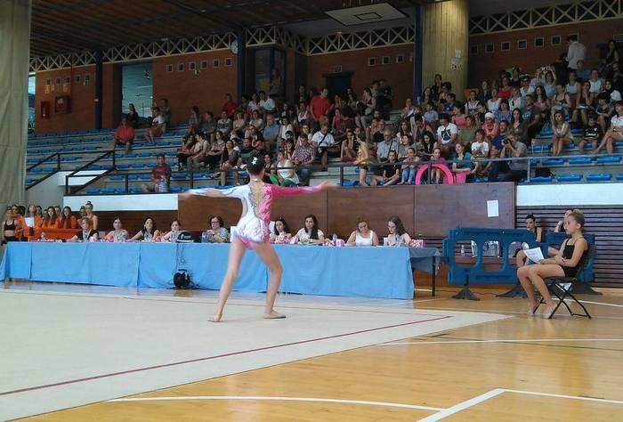 Gimnastika Erritmikoko VI. Txapelketa egingo dute domekan