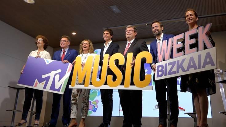 Getxon egingo dute MTV Music Weeken kontzertuetako bat