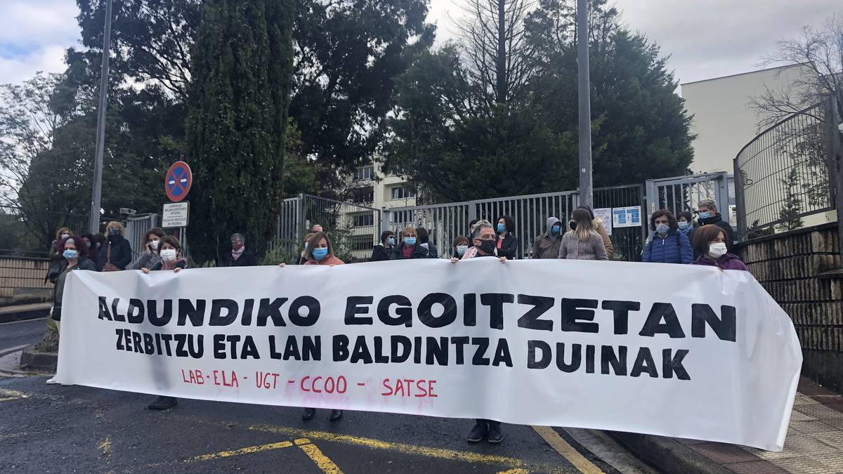 Pandemiaren hasieratik 11 erabiltzaile zendu dira Leioako Laguntza Zentroan