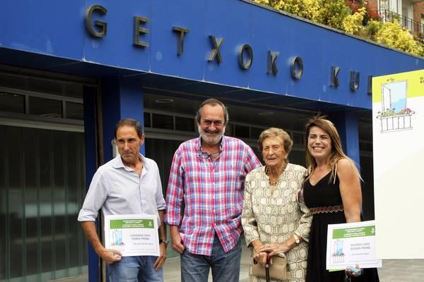 Mercedes Sánchezek irabazi du Getxoko balkoien lehiaketa