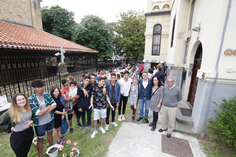 Ramadanaren amaierako jaia, Algortako San Nikolas elizako lokaletan