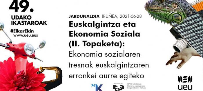 Euskalgintza eta ekonomia soziala: #ElkarEkin erronkei aurre egiten!
