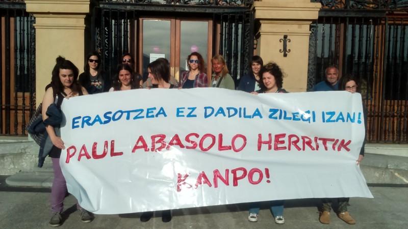 Mugimendu feministak Abasoloren etorrera salatuko du Faduran