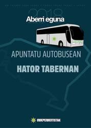 Aberri Egunera joateko autobusa antolatuko da Uribe Kostan