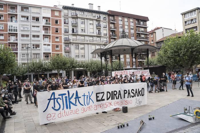Astika Herria defendatzeko manifestazioa egingo dute bihar Erandion