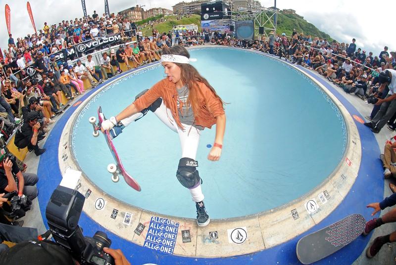 Dena prest La Kanteran skate-aren nazioarteko elitea hartzeko