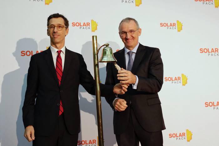 Solarpack burtsara atera da, eta lehen egunean %10 handitu du akzioen balioa