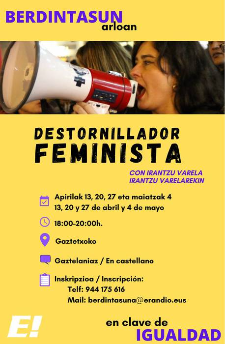 Jardunaldi Feministak: Destornillador feminista