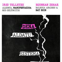 Getxoko mugimendu feministaren manifestazioa