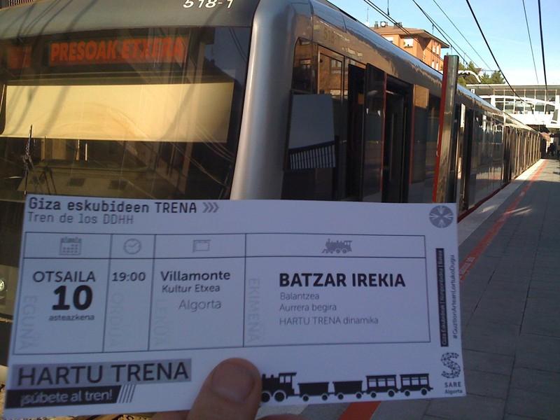 Ez gelditu trenari begira... HARTU TRENA!