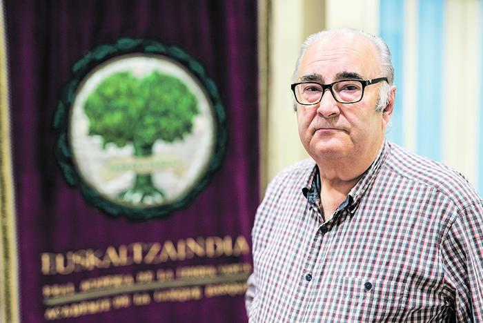 """Xabier Kintana: """"Etorkizuneko euskara batua izango da, edo ez da izango"""""""