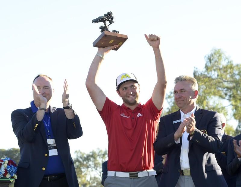 Jon Rahmek irabazi du PGA zirkuituko bere lehen txapelketa