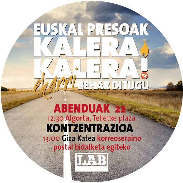 Euskal Presoak Kalera Kalera Ekarri behar ditugu!