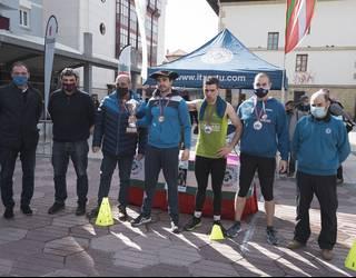 Beñat Amade getxoztarrak irabazi du Bizkaiko Pentatloi Txapelketa
