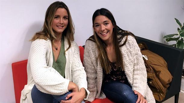 Leticia Canales eta Garazi Sanchez surflariak ETBn izango dira