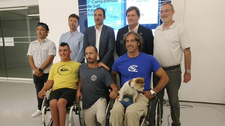 Euskadiko Surf Egokituko Nazioarteko Txapelketaren estreinaldia, Arrietaran