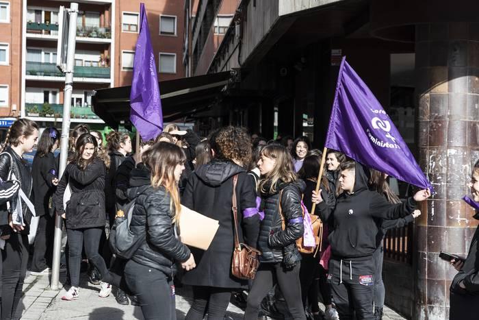 Urduliz ere borroka feministaren alde