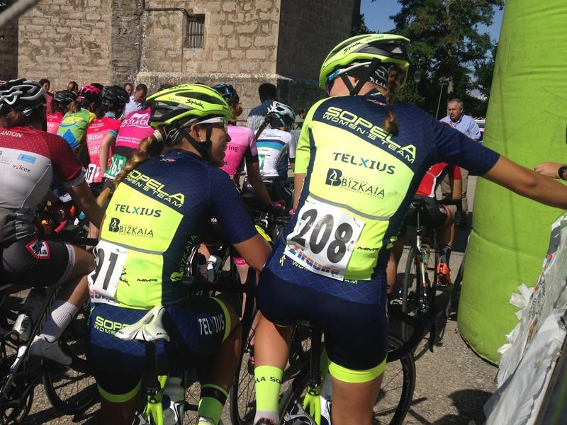 Sopela Women's Team Flandrian lehiatzen dabil