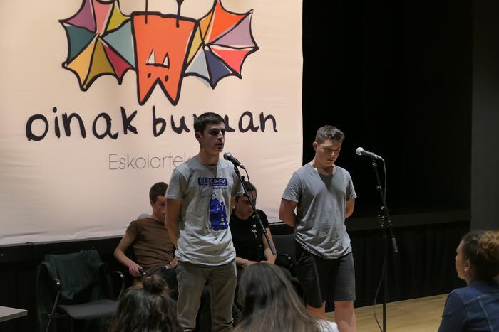 Peru Irastorzak irabazi du Bizkaiko eskolarteko Getxoko kanporaketa
