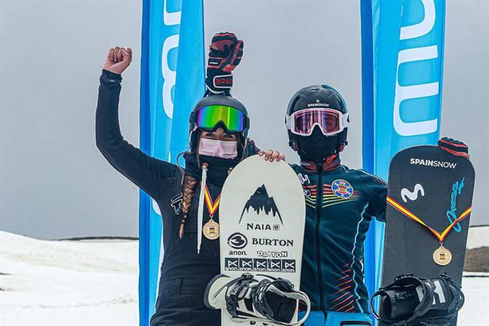 Naia Aramendia sopeloztarrak snowboardeko Espainiako txapelketa irabazi du