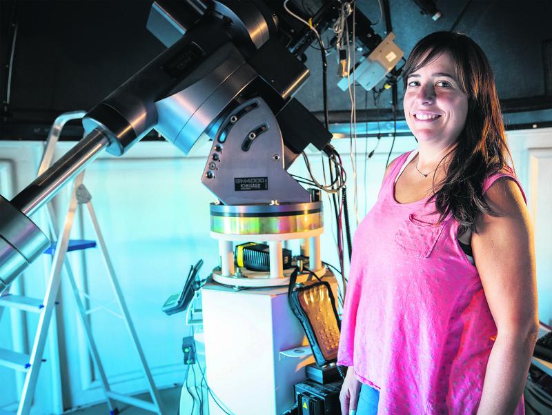 Naiara Barrado: «Planeta guztiak izan daitezke eredu onak Lurreko fenomeno batzuk hobeto ulertzeko»