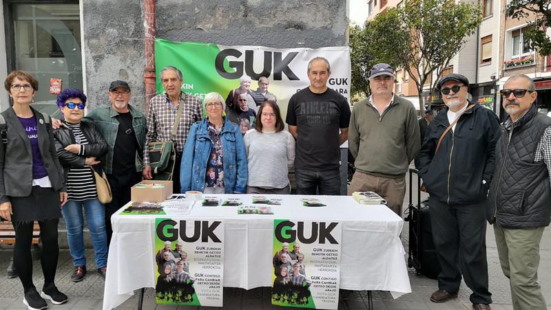 Arlo sozialari lehentasuna ematearen alde egin du GUK Getxok bere hautagaitzaren aurkezpenean