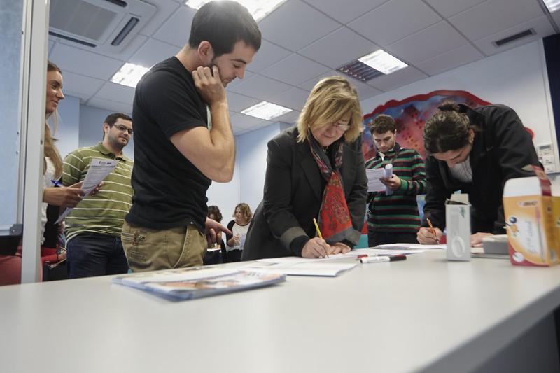 Aldundiak 162.000 euro erabiliko ditu eskualdeko 8 udalerritan gazte-enplegua sustatzeko