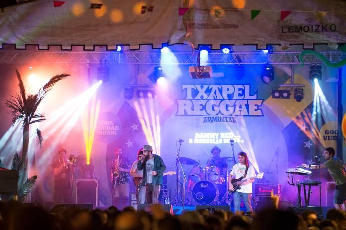 Reggae musika nagusi izango da aste-akabuan Armintzan