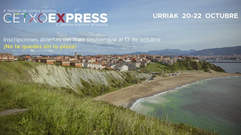 GetxoExpress film laburren lehiaketarako izen-ematea zabaldu dute