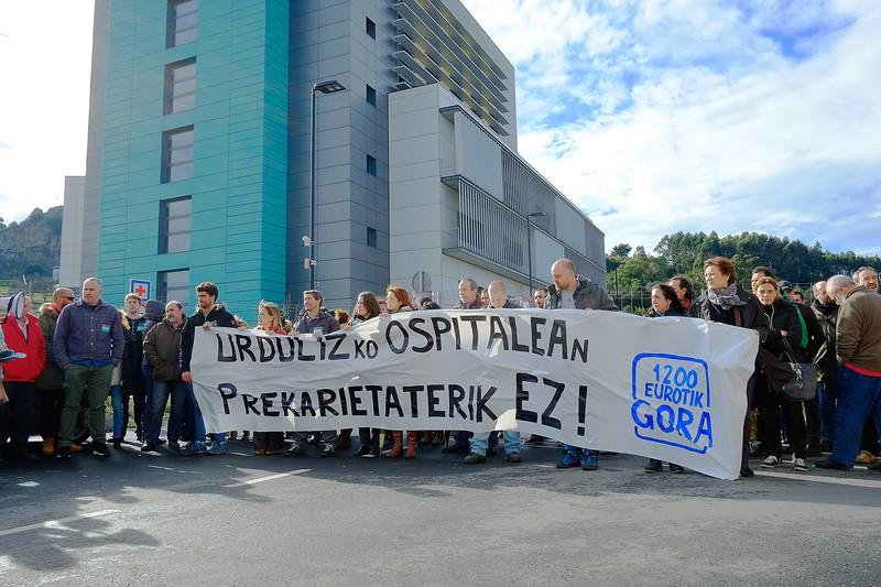 """Osakidetza: """"Egoera distortsionatu gura dute sindikatuek"""""""