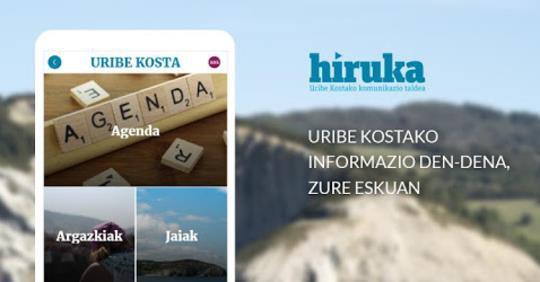 Daborduko iOSerako dago HIRUKA app-a