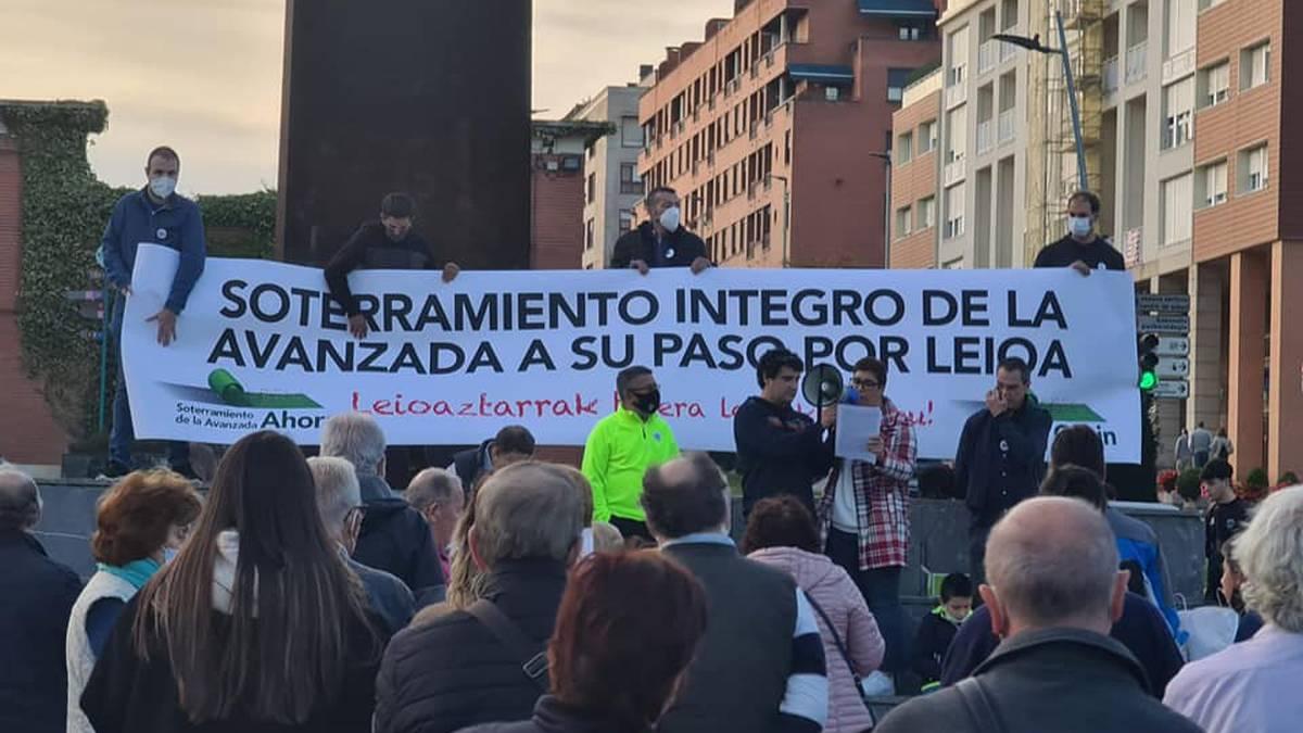 Avanzada guztiz lurperatzearen aldeko plataformak manifestazioa egingo du bihar