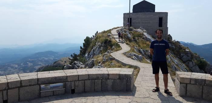 Lovcen mendia. Montenegroko olimpoa.