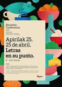 Hitzaldia: Letras en su punto