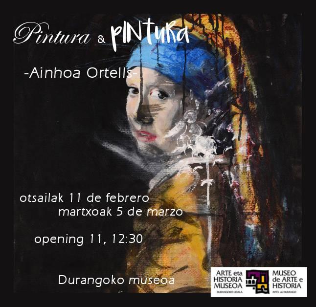 Ainhoa Ortells artista algortarrak erakusketa berriak prestatu ditu, apirilera bitartean