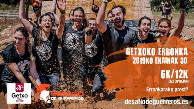Gerrarien Desafioa oztopo-lasterketa egingo dute domekan Getxon