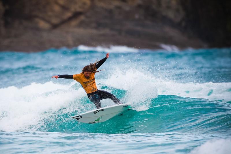 Leticia Canales sopeloztarrak irabazi du Open Las Americas surf-txapelketa