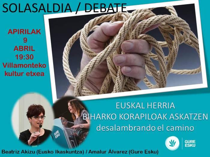 Euskal Herria: Biharko korapiloak askatzen