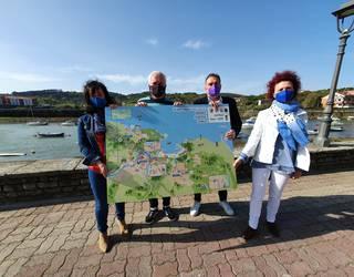 Barrika, Gorliz eta Plentziako mapa turistiko bateratua aurkeztu dute