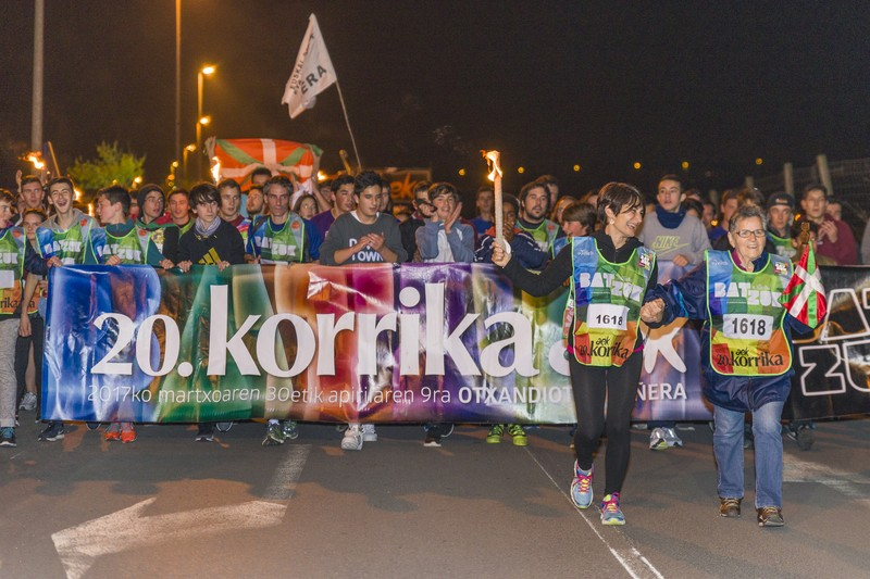 Korrika, Uribe Kostan barrena - 51